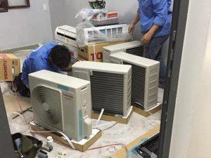 Dịch vụ tháo lắp di dời máy lạnh giá rẻ Thủ Đức