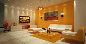 Phòng khách cho người mệnh thổ