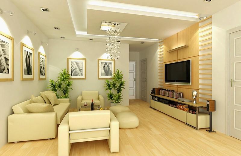 Thiết kế phòng khách cho người mệnh Kim