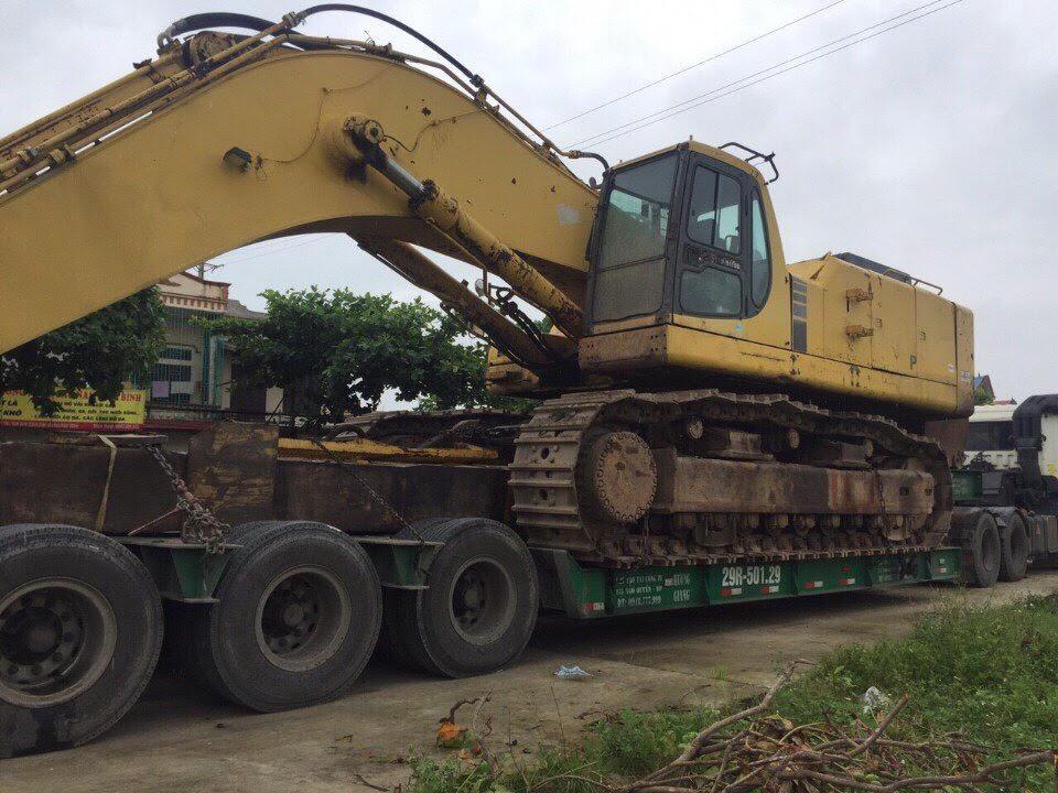 Dịch vụ vận chuyển máy công trình chuyên nghiệp