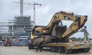 Vận chuyển máy công trình xây dựng tại Dịch Vụ Chuyển Đồ
