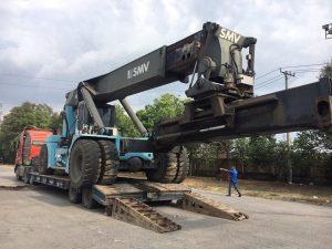 Vận chuyển máy móc công trình chuyên nghiệp