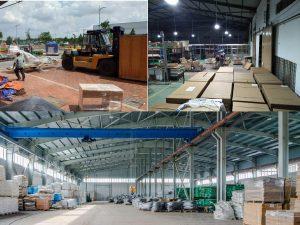 Dịch vụ chuyển kho xưởng trọn gói quận 1 TP.HCM