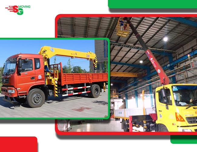 Cho thuê xe cẩu - dịch vụ chuyển đồ SG MOVING