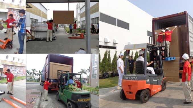 Dịch vụ chuyển kho xưởng trọn gói chuyên nghiệp - chất lượng quận 10