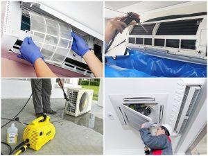 Những dụng cụ cần thiết khi vệ sinh máy lạnh tại nhà
