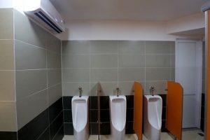 Lắp đặt điều hoà phong thuỷ trong nhà vệ sinh