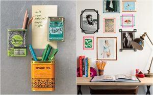 Bạn có thể tạo ra các món đồ trang trí phòng trọ sinh viên đẹp hơn bằng việc tái chế những đồ vật cũ