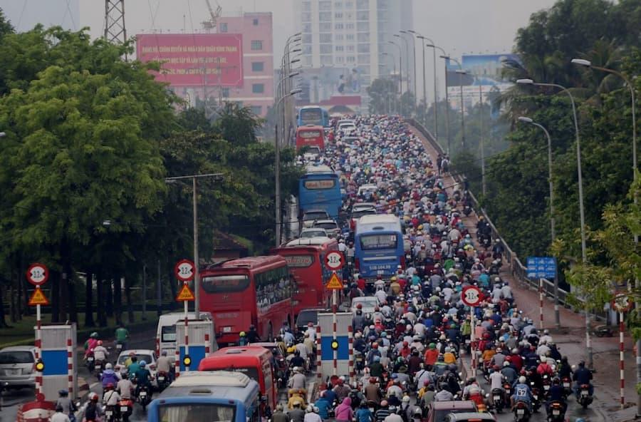 Những con đường hay kẹt xe nhất Sài Gòn hiện nay