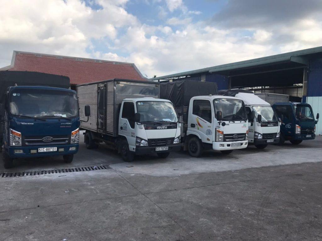 Bảng giá thuê xe tải chở hàng đi tỉnh giá rẻ và uy tín