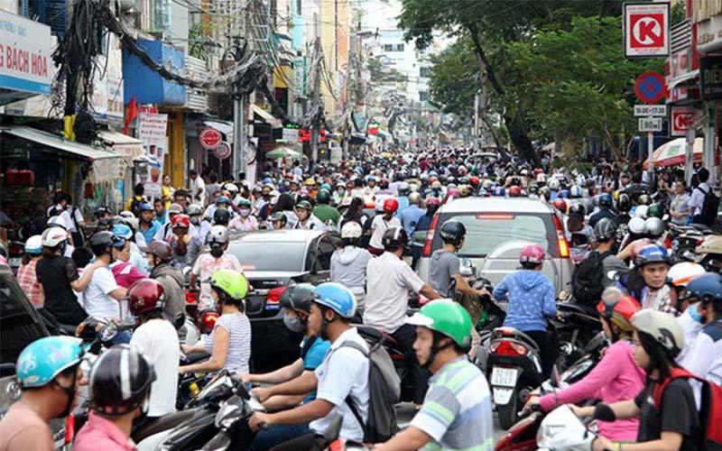 Tuyến đường hay kẹt xe ở Sài Gòn